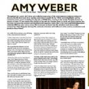 Amy Weber – HNS Magazine (Fall 2013) - 454 x 587
