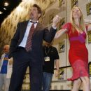 Robert Downey Jr. and Gwyneth Paltrow At Comic-Con 2007-07-28