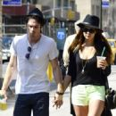 More Pictures Of Ian Somerhalder and Nina Dobrev In New York City