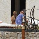 Ashley Tisdale: sunbathed at a Mexican resort