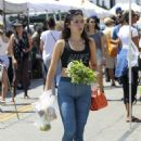 Isabelle Fuhrman – In tights at a farmers market in LA