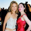 Kate Hudson and Rose Mcgowan - 1999 MTV Movie Awards - 451 x 680