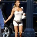 Melanie Brown – Arriving for a taping of America's Got Talent in LA
