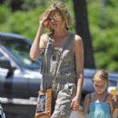 Heidi Klum, Seal and Family in New York