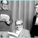 John Le Mesurier with Sir Michael Hordern and Sir Ian Holm - 300 x 180