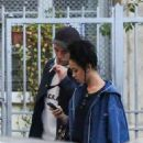Robert Pattinson and FKA Twigs in Paris (October 14, 2014)