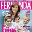 Laura Flores - Fernanda Magazine Cover [Mexico] (July 2009)
