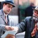 Stanley Tucci and Ian Holm in USA Films' Joe Gould's Secret - 2000 - 400 x 262