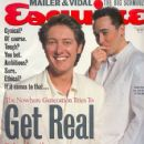 James Spader and John Cusack in Esquire Magazine