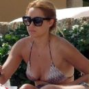 Lauren Conrad in a bikini while vacationing in Cabo with boyfriend William Tell (July 15)