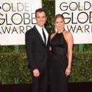 Justin Theroux and Jennifer Aniston At The 72nd Golden Globe Awards (2015) - 403 x 594