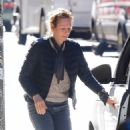 Uma Thurman – Was seen on the street of New York