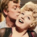 Michael Caine and Shelley Winters