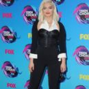 Bebe Rexha attends The Teen Choice Awards 2017