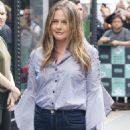 Alicia Silverstone – Visits the AOL BUILD Series in New York