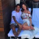 Neymar and Bruna in Vegas - 454 x 454