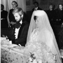 John Barrymore and Gabriella Palazzoli wedding - 445 x 552