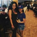 Blac Chyna and Johnny Winn at a Restaurant in New Orleans, Louisiana - July 18, 2015