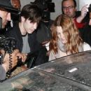 Drew Barrymore & Justin Long Leaves A Club In Hollywood 24.5.08