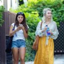 Julianne Hough – Leaves her office in West Hollywood