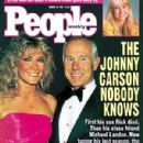 Johnny Carson and Alexis Maas - PEOPLE Cover, Aug 27, 1991