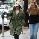 Lana Del Rey and a friend are spotted out shopping in Sherman Oaks, California on January 23, 2017 - 426 x 600