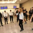 Shakira – Arriving at the Airport in Argentina 10/24/2018 - 454 x 303
