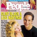 Clint Black and Lisa Hartman - PEOPLE Cover, August 24, 1992