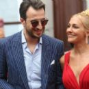 Meryem Uzerli and Fatih Artman