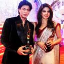 Shah Rukh Khan and Priyanka Chopra Wins Colors Screen Award Best couple for 'Don 2'