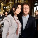 Paul McCartney and his wife Nancy Shevell attend the Stella McCartney show as part of the Paris Fashion Week Womenswear Fall/Winter 2016/2017 on March 7, 2016 in Paris, France.
