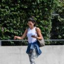 Jenna Dewan – Leaves her gym after a pilates session in West Hollywood