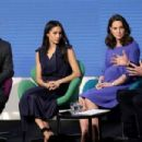 Prince Harry, Meghan Markle, Catherine, Duchess of Cambridge and Prince William, Duke of Cambridge attend the first annual Royal Foundation Forum - 454 x 303