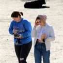 Lucy Hale – Spotted at a Dog Park In Los Angeles