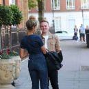 Leona Lewis – Leaving the Landmark Hotel in London - 454 x 634