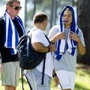 Harry Styles and Liam Payne getting in their morning workouts in Adelaide, Australia (September 24)
