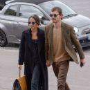 Alicia Vikander and Michael Fassbender at Girafe Restaurant in Paris 03/03/2019 - 454 x 681