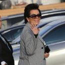 Kris Jenner was seen arriving at Nobu restaurant March 16, 2017.  (March 16, 2017 - 448 x 600