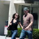 Brad Penny and Eliza Dushku