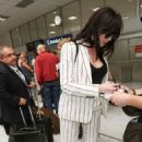 Daisy Lowe Arrives at Nice Airport in Cannes - 454 x 681
