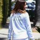 Sophia Bush – Attends at Eva Longoria's baby shower in LA
