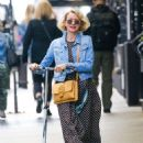 Naomi Watts Ride a Scooter – Out in New York - 454 x 604