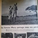 Ernest Hemingway and Mary Welsh - Paris Match Magazine Pictorial [France] (30 January 1954)