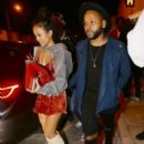 Karrueche Tran  spotted at Catch restaurant in Los Angeles, California on November 5, 2016