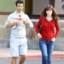 Jacob Pechenik and Zooey Deschanel