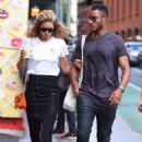 Doutzen Kroes and husband Sunnery James – out in SoHo - 454 x 683