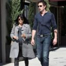 Selma Blair and her boyfriend Jason Bleick seen leaving lunch in Beverly Hills, CA.