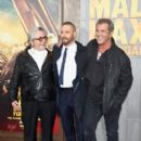 Tom Hardy-May 7, 2015-Premiere Of Warner Bros. Pictures' 'Mad Max: Fury Road' - Red Carpet - 399 x 600
