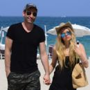 Avril Lavigne and Chad Kroeger in Miami, FL (May 11, 2015)