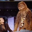 Carrie Fisher and Peter Mayhew At The 1997 MTV Movie Awards - 454 x 331